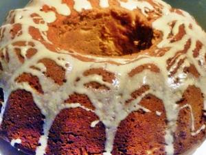 Tahin pekmezli kek